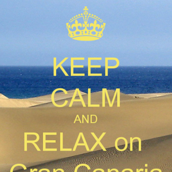 keep-calm-and-relax-on-gran-canaria